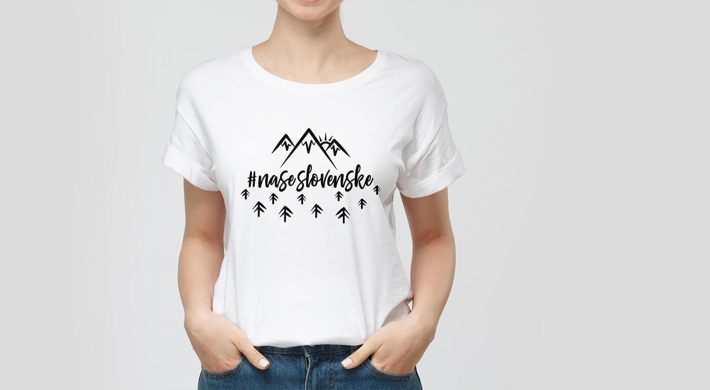 Neobyčajné dámske tričká s ľudovými vzormi