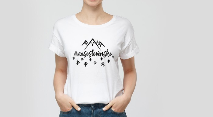 Dámske tričká inšpirované folklórom