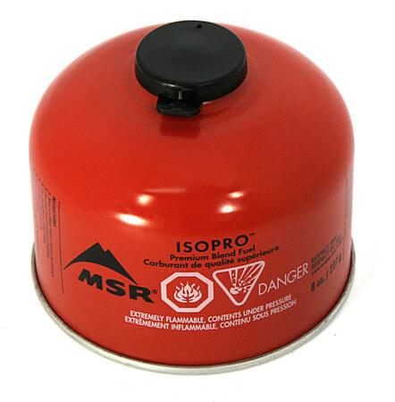 MSR IsoPro 110 plynová kartuša