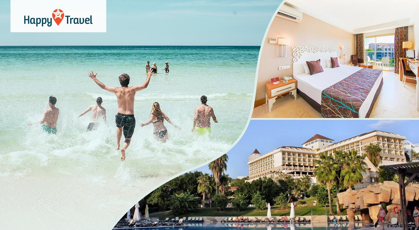Turecko Side: 8 alebo 15 dní s ultra all inclusive v 5* Horus Paradise Luxury Resort Hotel letecky z Bratislavy, Košíc, Popradu alebo Piešťan