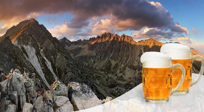 Pivo na Jahňacom štíte - zbierka