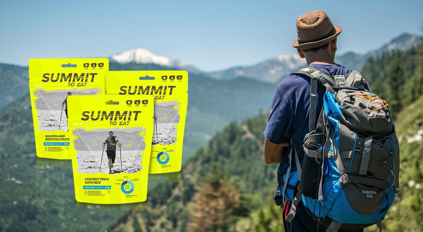 Hotové jedlá Summit to eat - mrazom sušené jedlá pre turistov, ktoré si zachovávajú prirodzenú chuť,vôňu a živiny