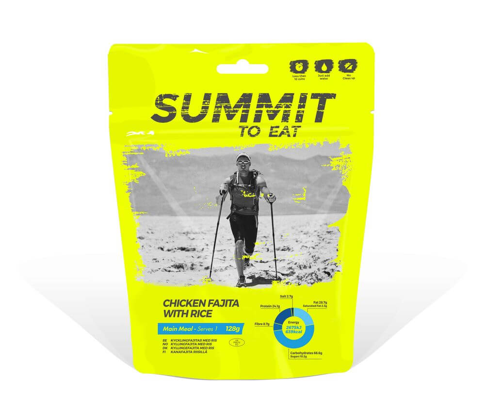 Summit to eat kurča Fajita s ryžou 128 g (1 porcia)