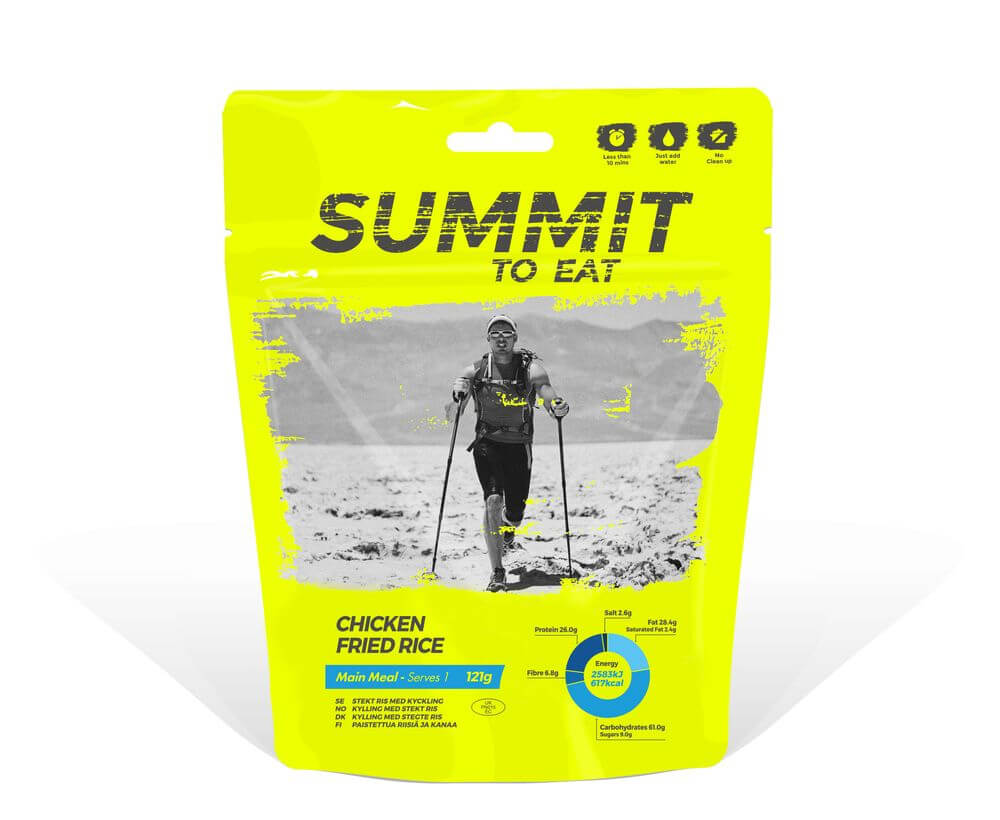 Summit to eat vyprážaná ryža s kuracím mäsom 121 g (1 porcia)