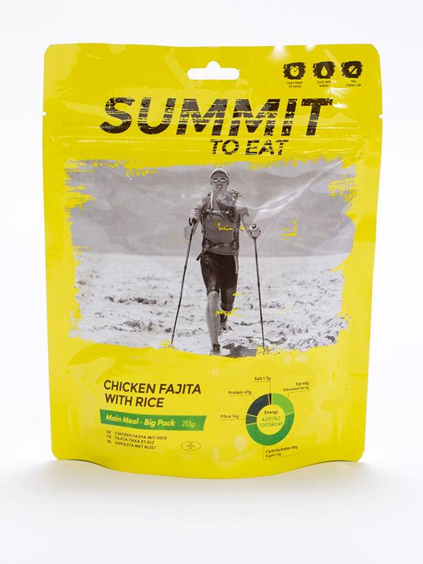 Summit to eat kurča Fajita s ryžou 213 g (Big pack)