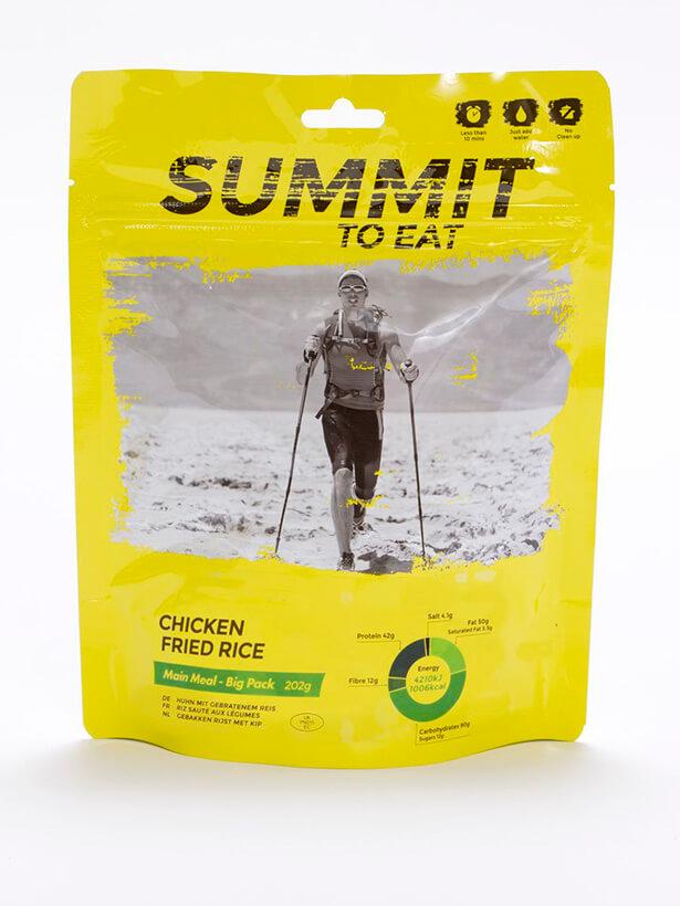 Summit to eat vyprážaná ryža s kuracím mäsom 202 g (Big pack)