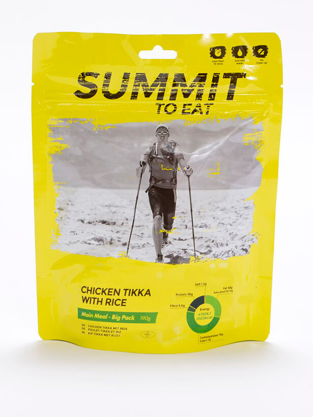 Summit to eat  kurča Tikka s ryžou 190 g  (Big pack)