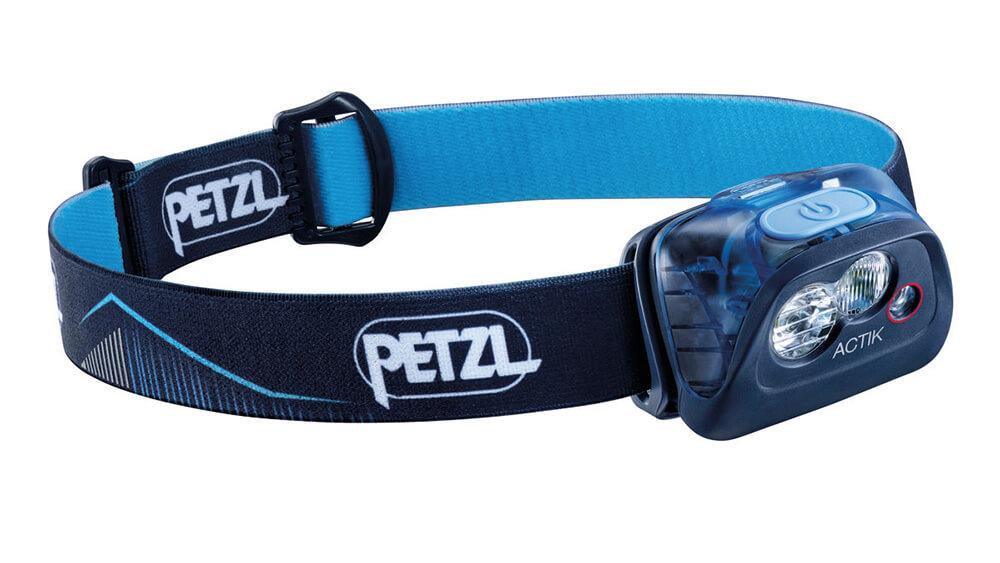 PETZL Actik 2019 čelovka - modrá