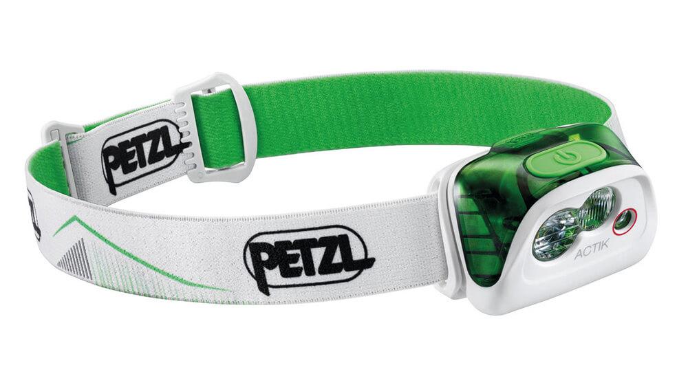 PETZL Actik 2019 čelovka - zelená