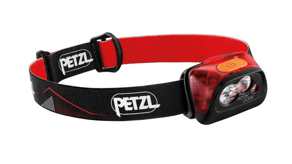 PETZL Actik Core 2019 čelovka - červená