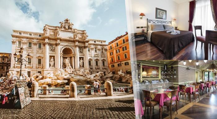 3-dňový pobyt v Ríme - Hotel Colony***