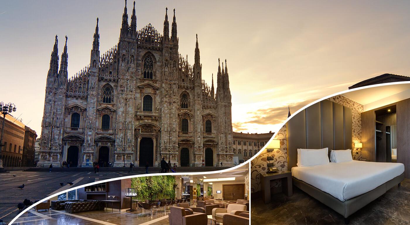Taliansko: 3 dni v Klima Hoteli Miláno Fiere**** pre dvojicu
