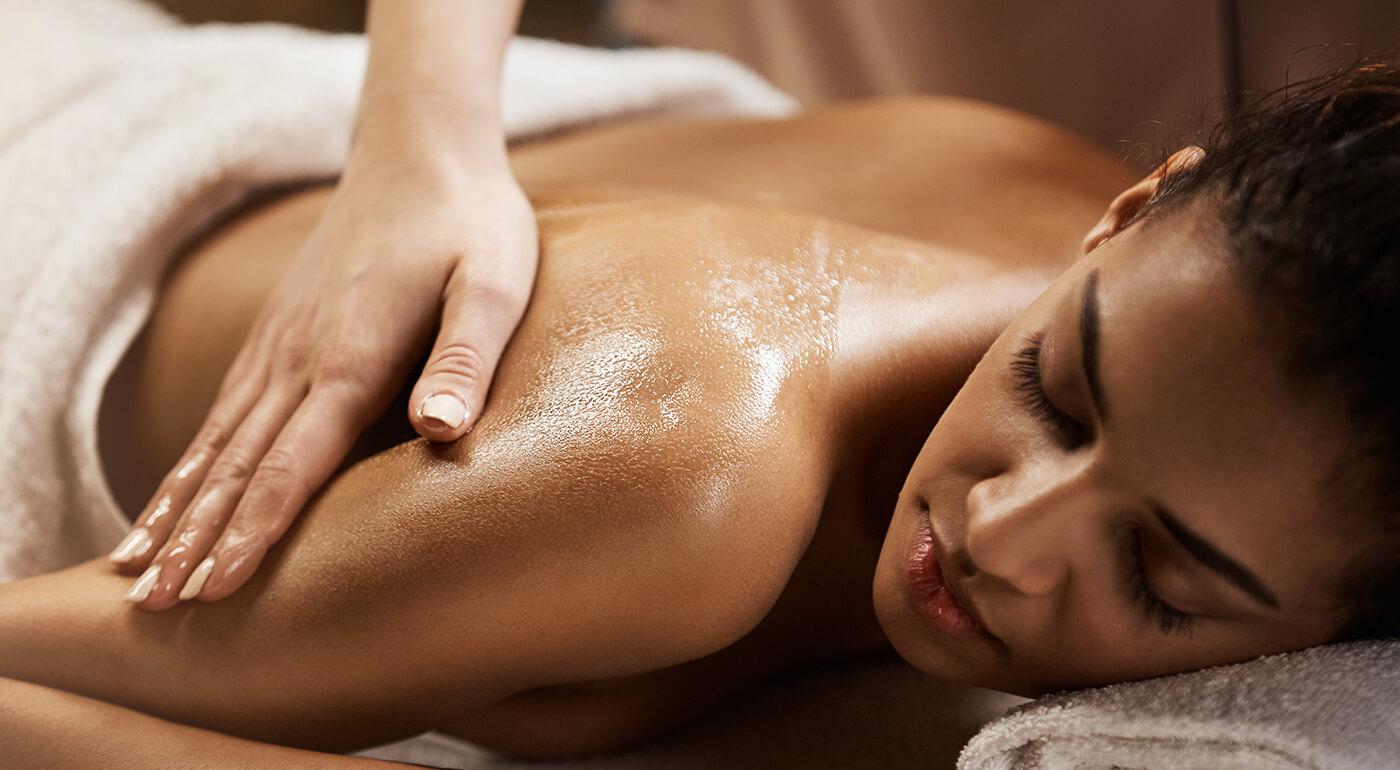 Olejová alebo emocionálna masáž určená výlučne pre dámy
