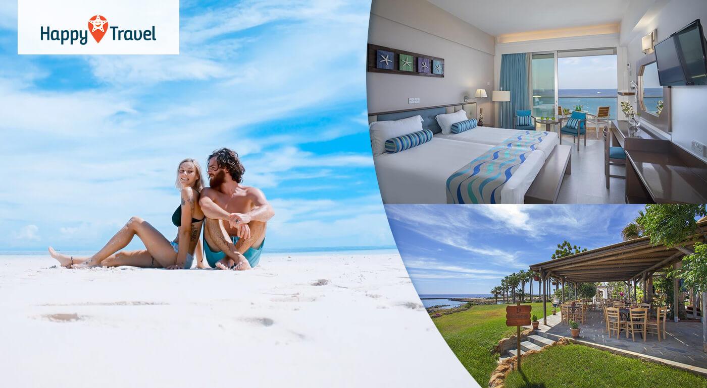 Južný Cyprus: Letná dovolenka na 8 dní s letenkou a raňajkami v 4* Cavo Maris Beach Hotel
