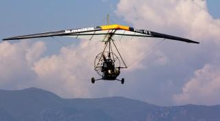 Let motorovým rogalom Pilotclub