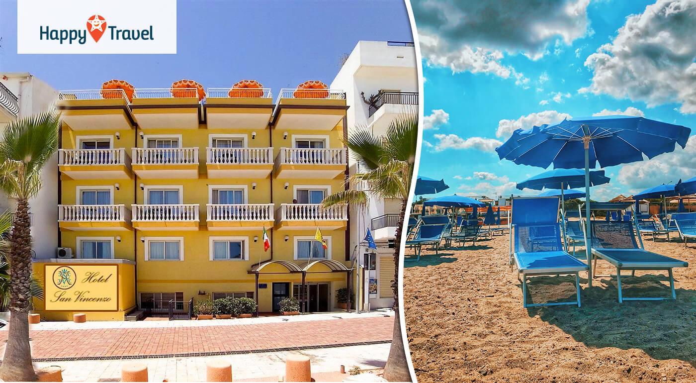 Taliansko - Sicília: 8 slnečných dní v hoteli San Vincenzo**** letecky z Bratislavy