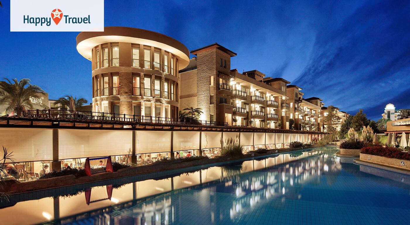 Turecko Side: 8 alebo 15 dní s ultra all inclusive v 5* Xanthe Resort & Spa letecky z Bratislavy, Košíc, Popradu alebo Piešťan