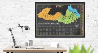 Stieracia mapa Tatry