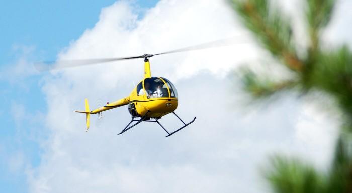 Pilotom vrtuľníka na skúšku alebo let vrtuľníkom