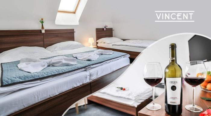 Wellness dovolenka v Hoteli Vincent Luhačovice