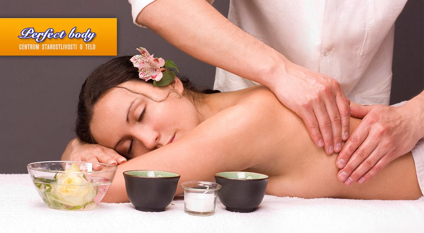 60-minútová celotelová masáž pre 1 osobu