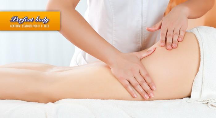 Ručná anticelulitídna masáž