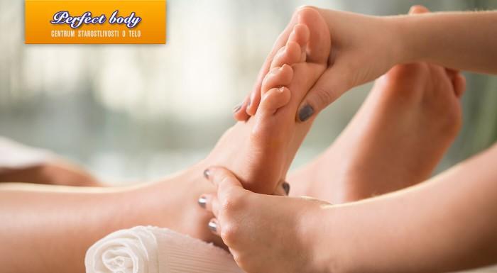Polhodinová reflexná masáž chodidiel