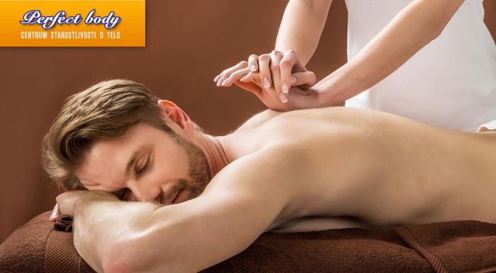 Breussova masáž v salóne Perfect Body