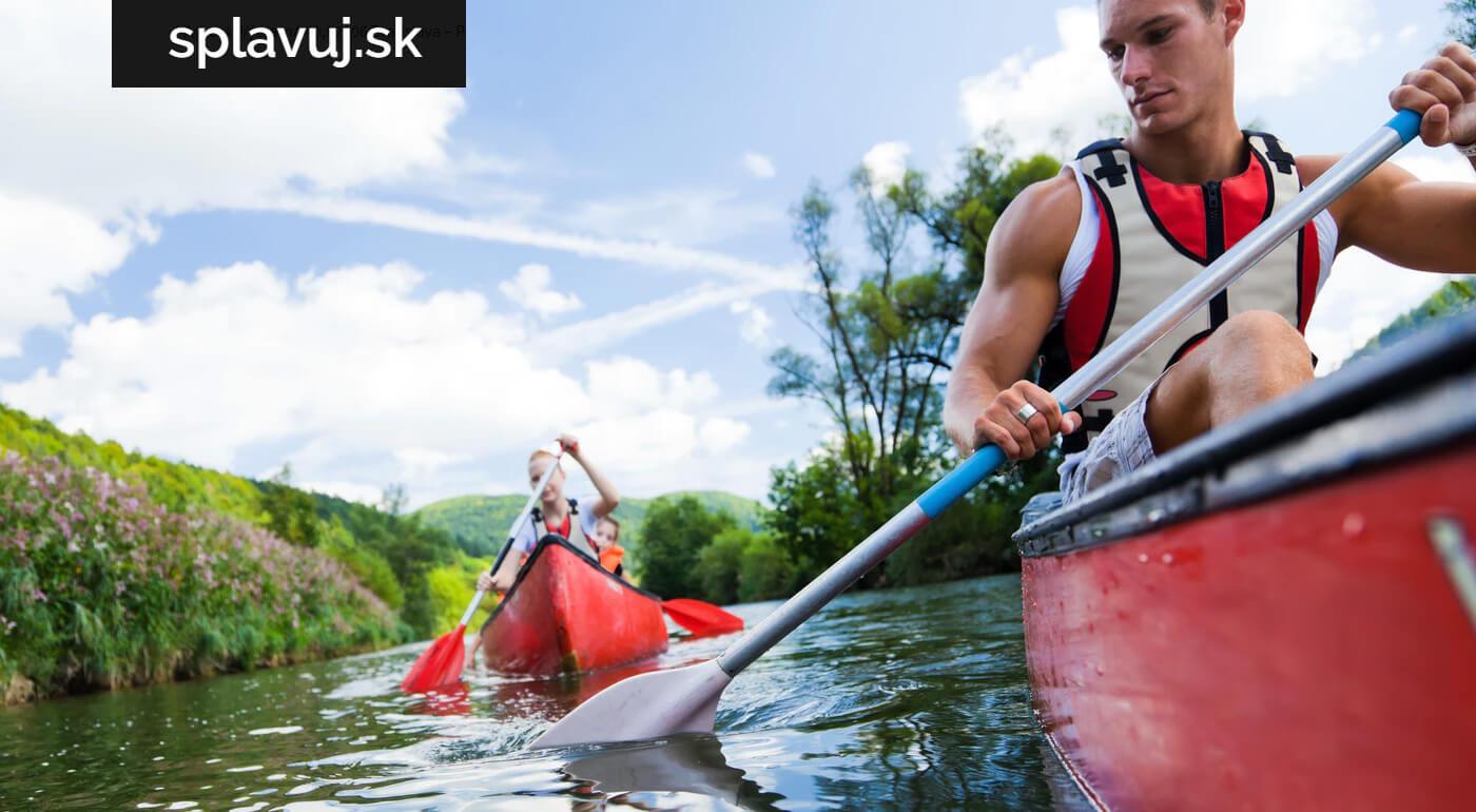 Dobrodružný splav Malého Dunaja v kanoe