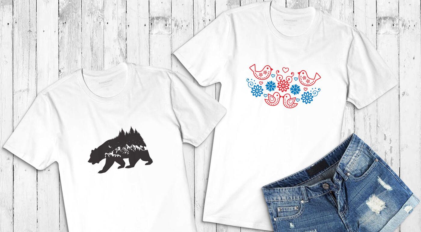 Unikátne dámske tričká so slovenskými vzormi - také v obchodoch nenájdete!