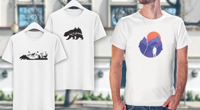 Pánske tričká s ľudovými vzormi - exkluzívne u nás