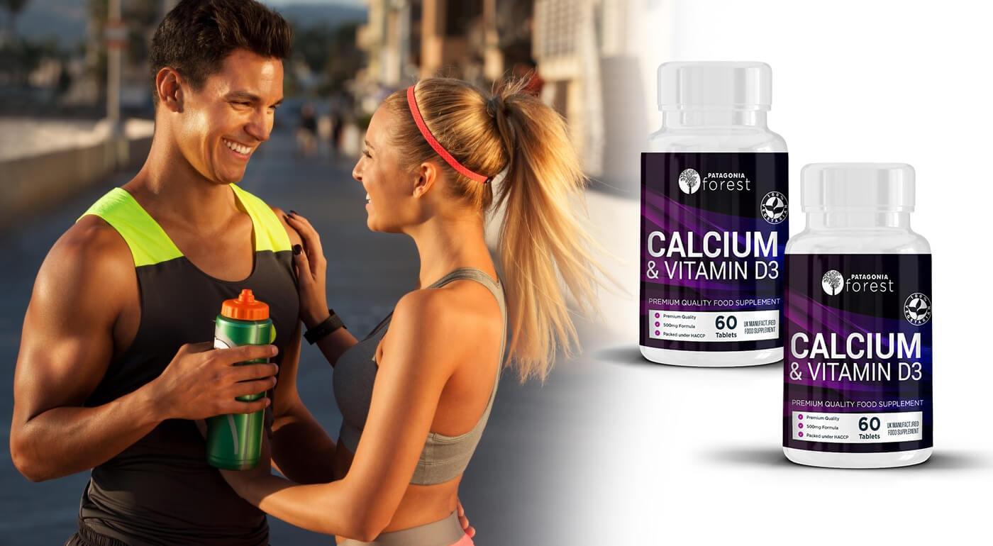 Calcium & Vitamín D3 pre zdravé zuby, kosti a silnú obranyschopnosť