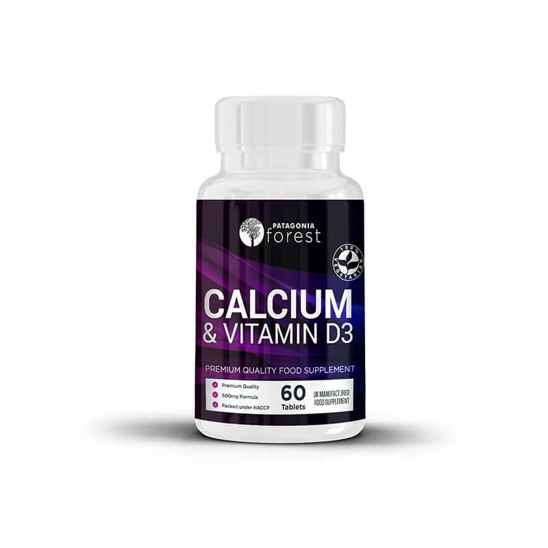 1x Vitamín D3 a Calcium (60 kapsúl)