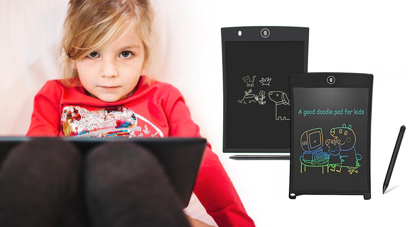 Vyzbrojte deti tabletom, s ktorým sa budú cítiť ako dospeláci! Praktický zápisník v podobe tabletu si užijú nielen malí, ale aj veľkí. Poslúži na rôzne zápisky a nákresy a je veľmi zaujímavou hračkou.