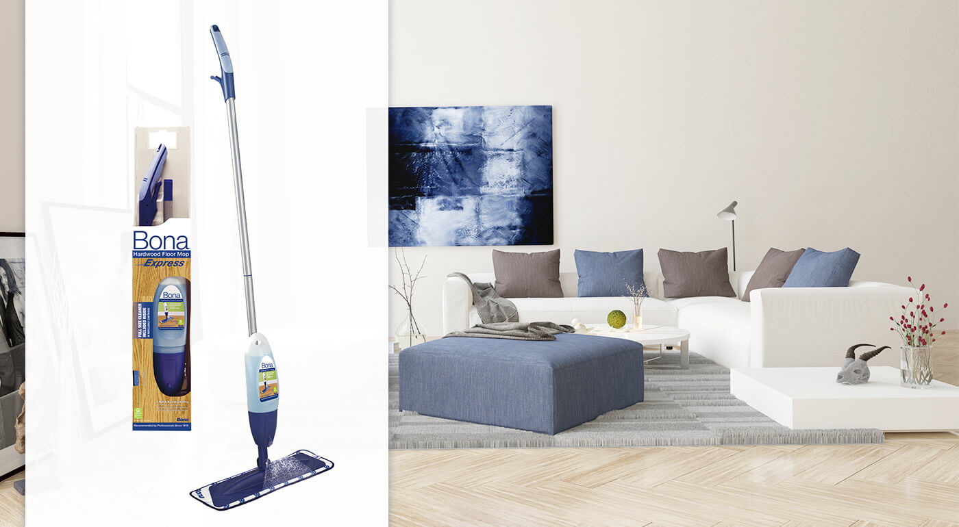 Špičkový mop pre vaše podlahy - Bona Spray Mop Express