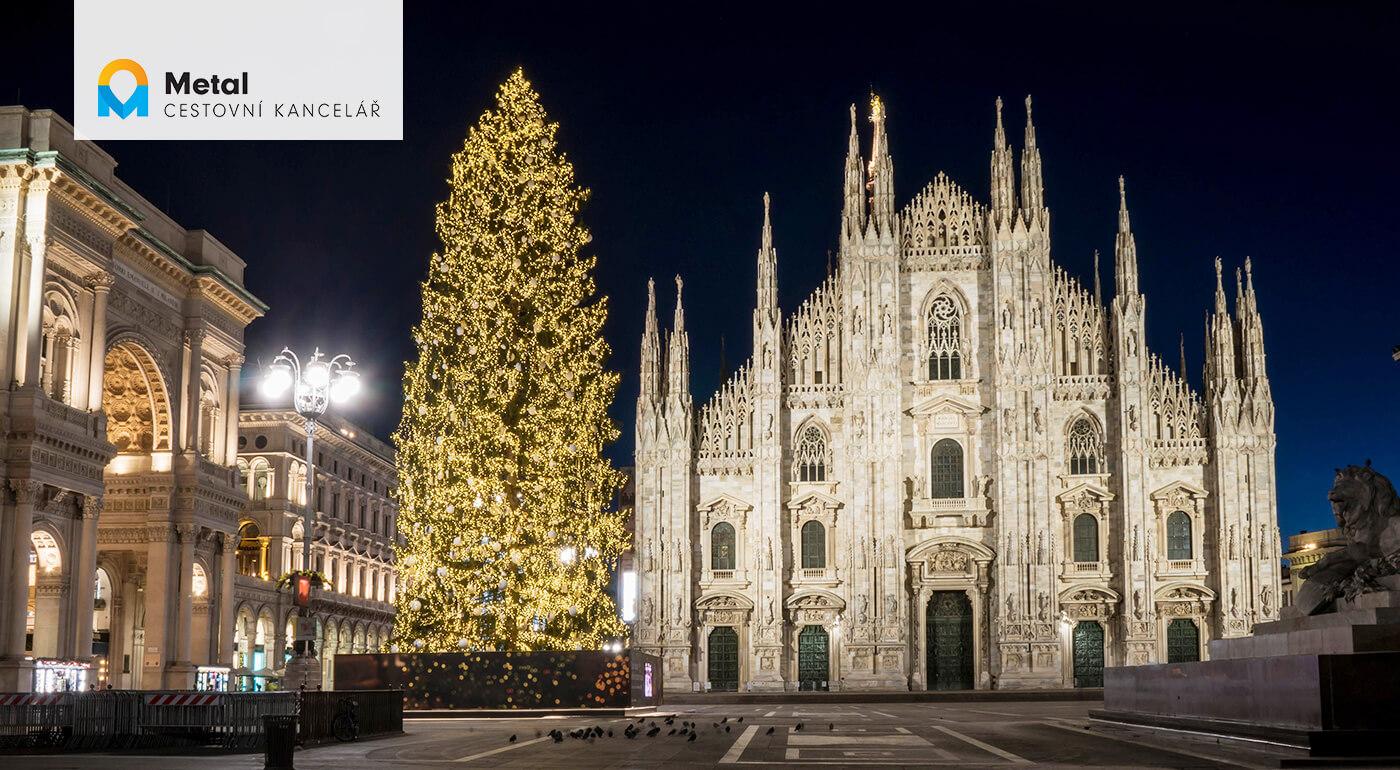 Adventné Miláno a Verona: 4-dňový poznávací zájazd do najkrajších miest severného Talianska