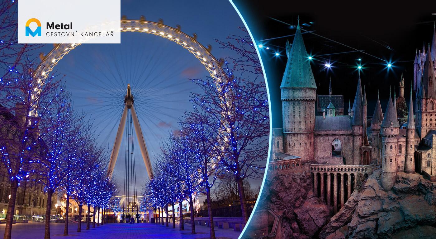 Adventný Londýn: 5-dňový zájazd do metropoly Anglicka s návštevou ateliérov Harryho Pottera