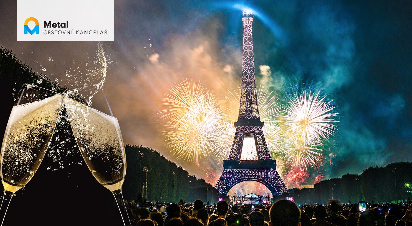 Silvestrovský Paríž: 4 alebo 5-dňový zájazd za veľkolepou oslavou na privítanie Nového roka s darčekom v podobe fľaše sektu do páru!