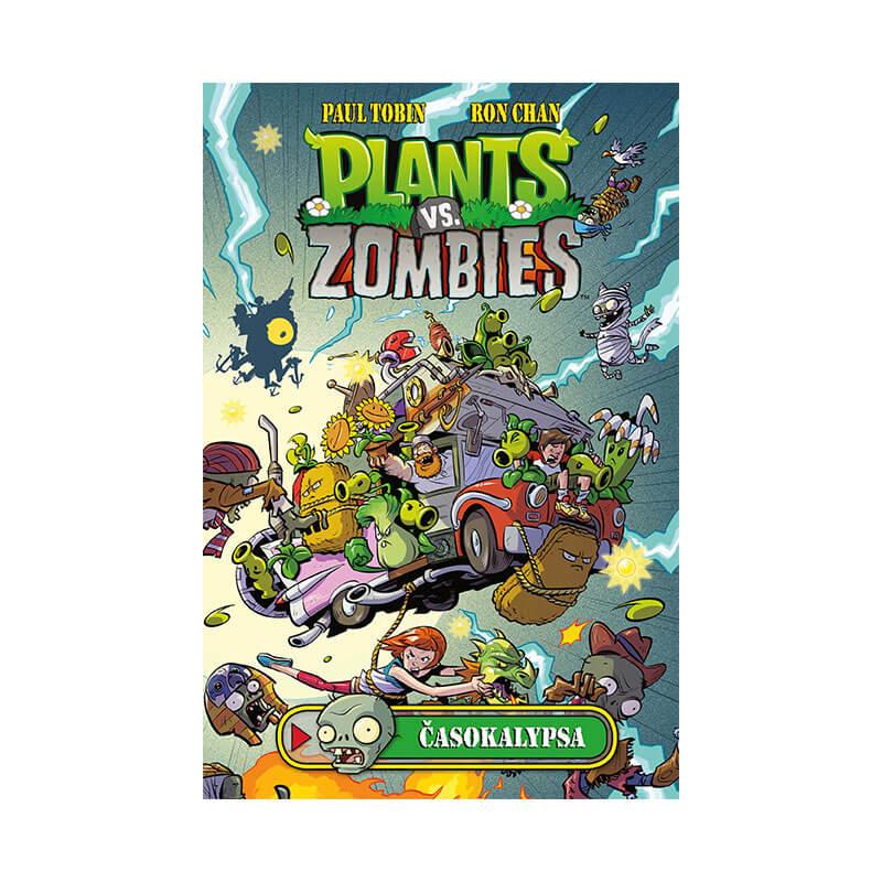 Detský komiks Plants vs. Zombies Časokalypsa (v slovenskom jazyku)