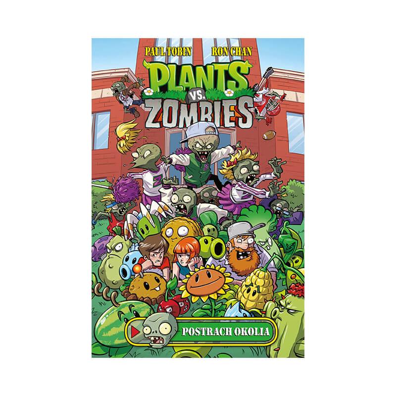 Detský komiks Plants vs. Zombies Postrach okolia (v slovenskom jazyku)