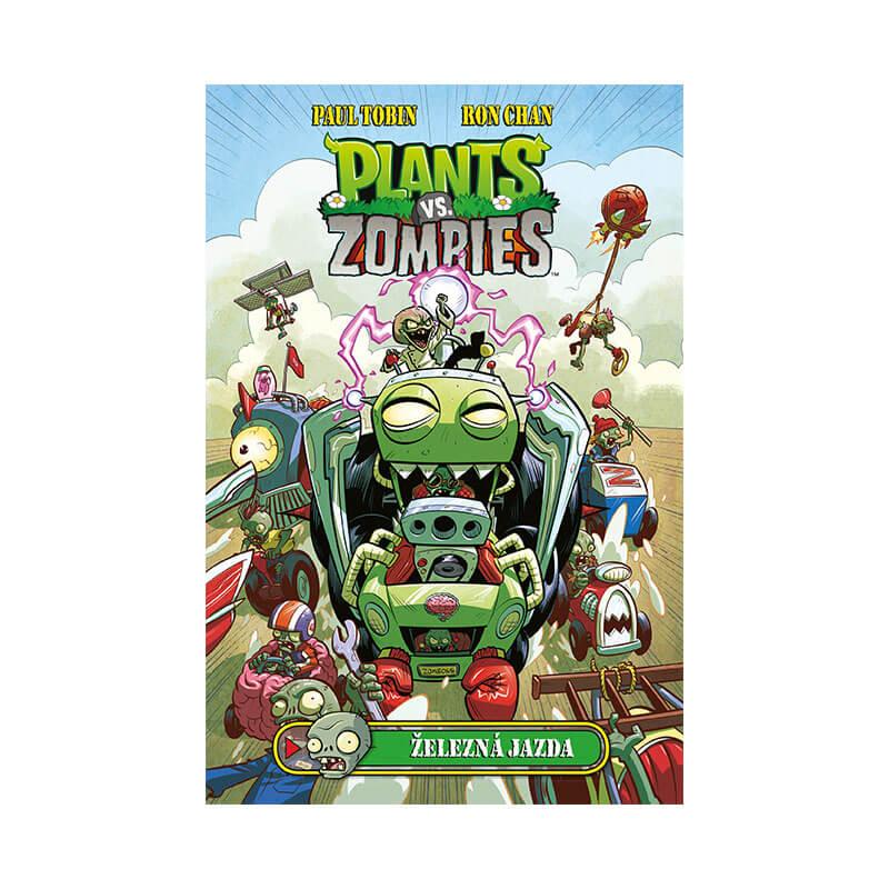 Detský komiks Plants vs. Zombies Železná jazda (v slovenskom jazyku)