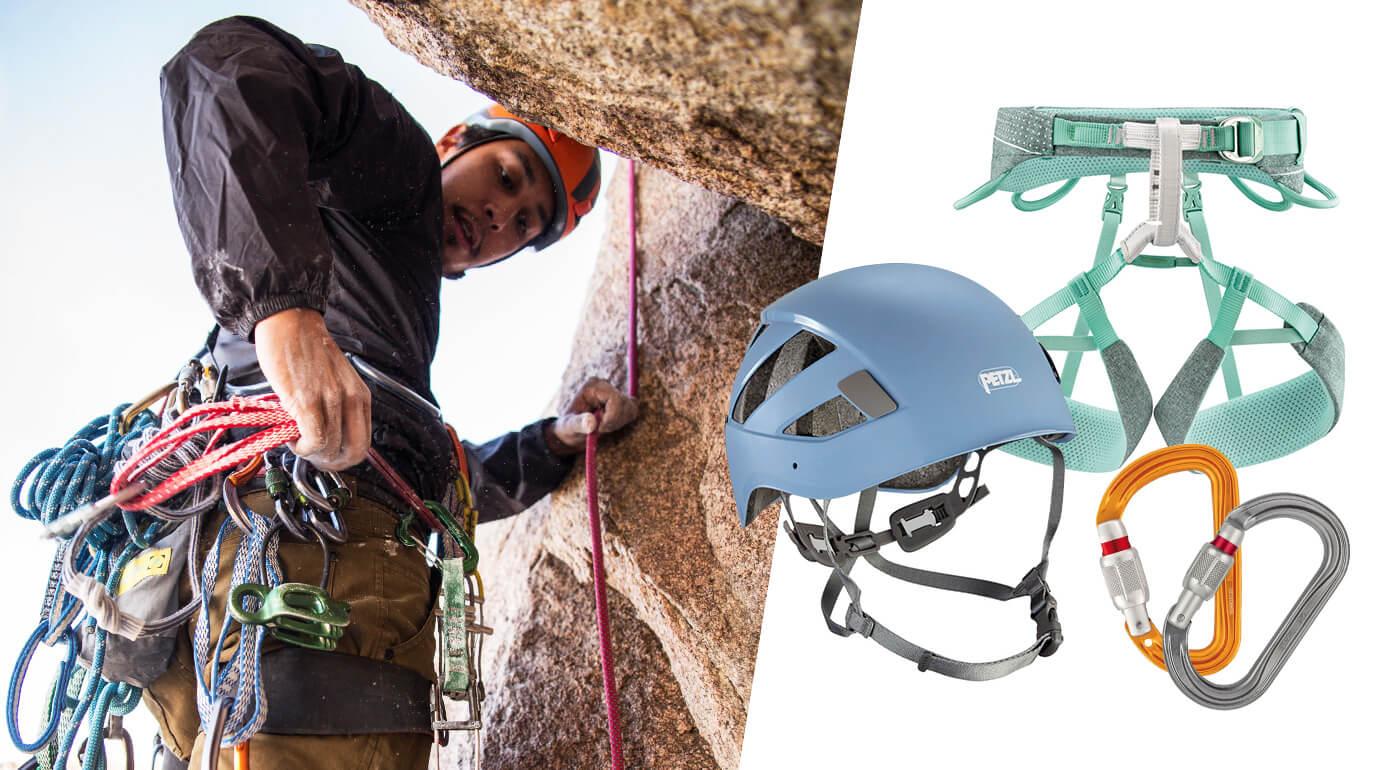 Doplnky pre horolezectvo a ferraty od svetovej značky PETZL - ferratové tlmiče, úväzky, sety, karabíny a prilby