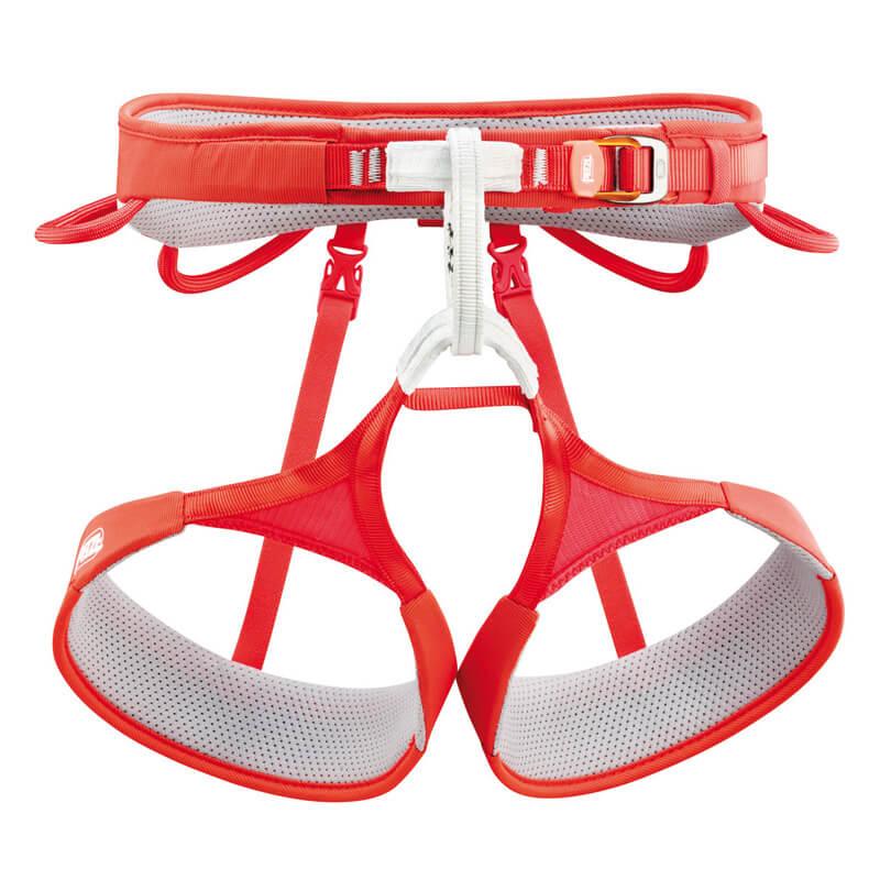 PETZL Hirundos Športový úväzok oranžový - veľkosť XS