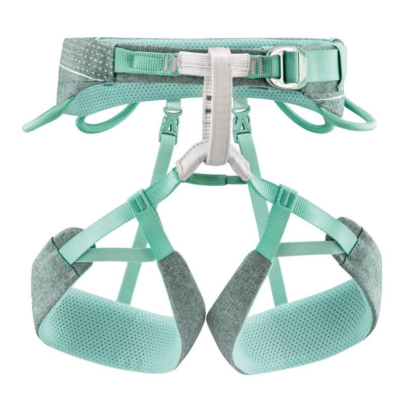 PETZL Selena Športový úväzok zelený - veľkosť XS