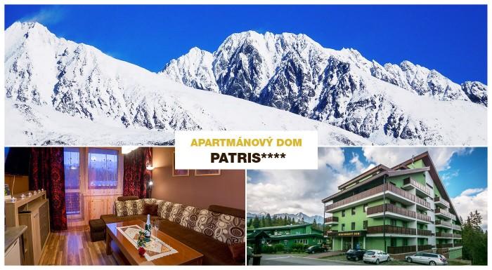 Apartmánový dom Patris v Tatranskej Štrbe