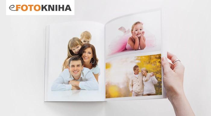 Fotokniha s pevnou väzbou - 40, 60 alebo 80 strán