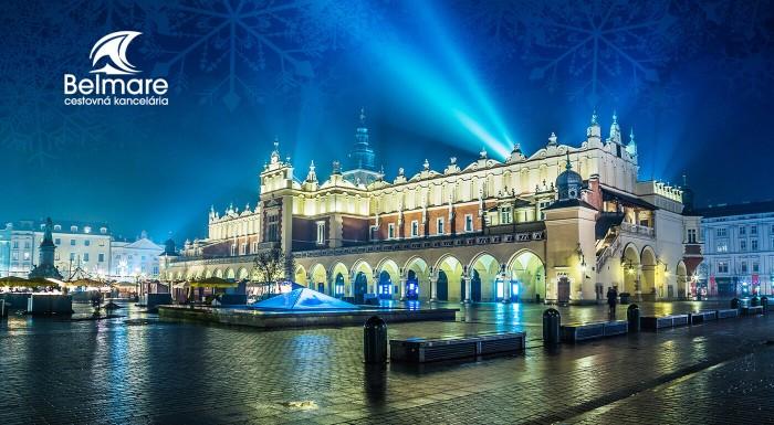 Vianočný Krakow je plný vôní, svetielok, snehu a ručne robených darčekov, ktoré inde nenájdete. Prežite jeden adventný víkend netradične a urobte si malý predsviatočný výlet k severným susedom.