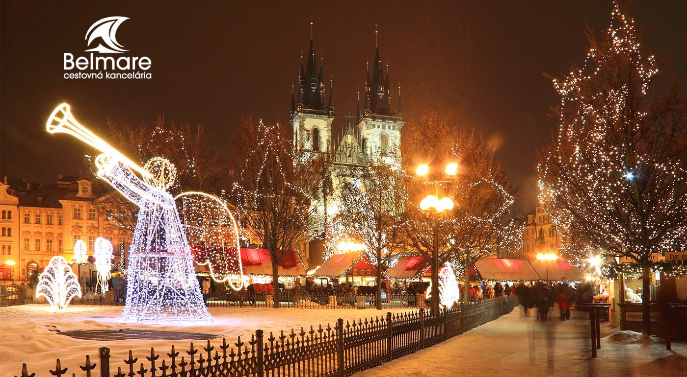 Adventná Praha a pražské Benátky: 2-dňový zájazd do najväčšej českej metropoly