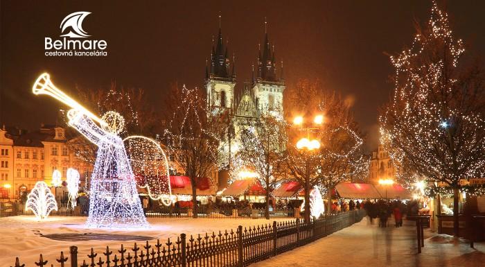 Adventná Praha a pražské Benátky