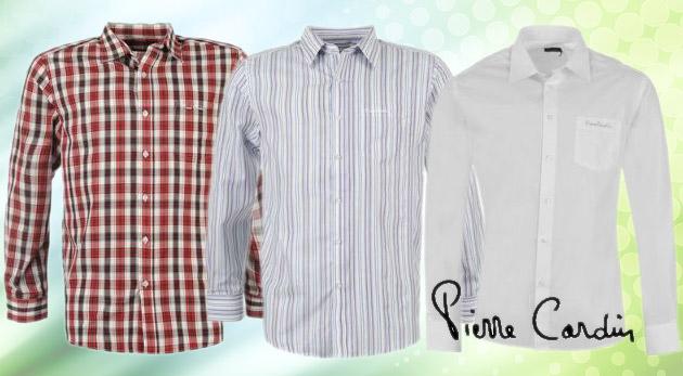 2bf6ada74e5a Pánska košeľa značky Pierre Cardin. Až 14 modelov za výhodnú nízku cenu.